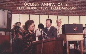 50th Anniversary of First Electronic Video Transmission